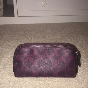 BRAND NEW! Never used Coach Makeup clutch